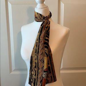 Vintage head/neck scarf- multicolor